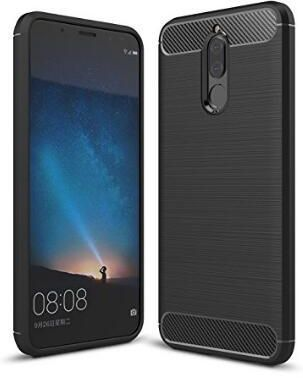 new arrival d0fbb da13f HUAWEI MATE 10 LITE Carbon Fiber TPU Slim Lightweight Shockproof Case Cover