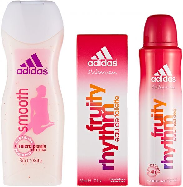 8484637f6629 Adidas Female Gift Pack Fruity Rhythm 50ml + Body Spray 150ml + ...