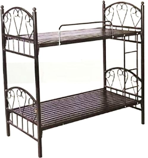 Ae Heavy Duty Bunk Bed Heart Design Medicated Mattresses Included