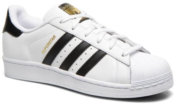adidas White & Black Fashion Sneakers For Unisex