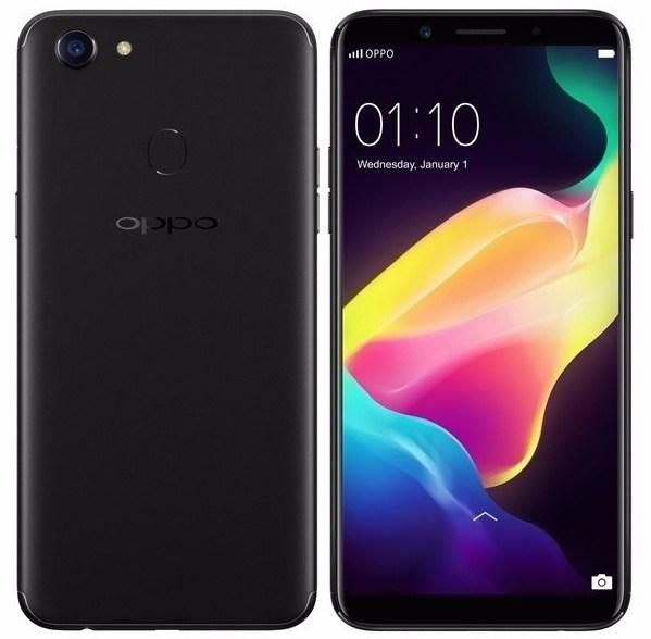 OPPO F5 CAPTURE THE REAL YOU DUAL SIM - 32GB, 4GB RAM, 4G LTD, WIFI, BLACK.
