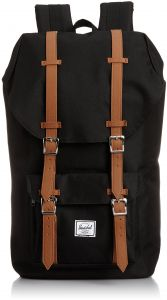 Herschel Supply Co. Little America, Forest Night White Rugby Stripe Tan  Synthetic Leather   Souq - UAE 7060254814