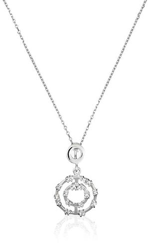 Orphelia womens silver pendant necklace price review and buy in 13545 aed 1443 bhd aloadofball Image collections