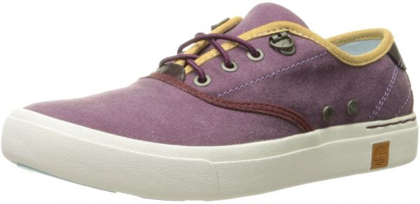 Timberland Women's Amherst Oxford, Grape Wine Canvas, 9 M US