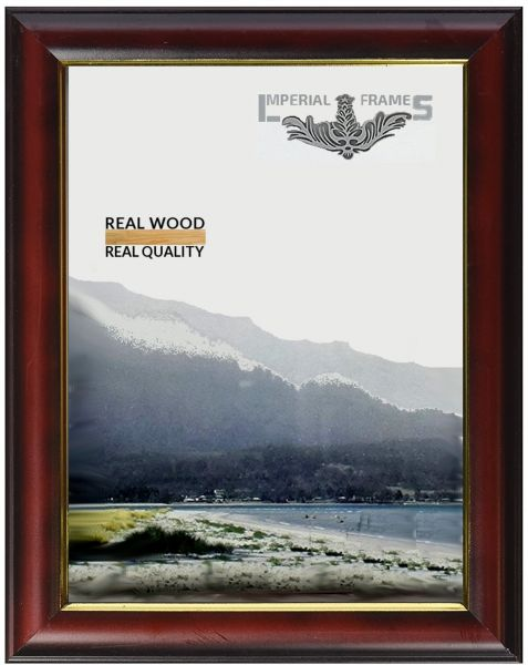 Imperial Frames 6 by 8-Inch/8 by 6-Inch Square Picture/Photo Frame ...
