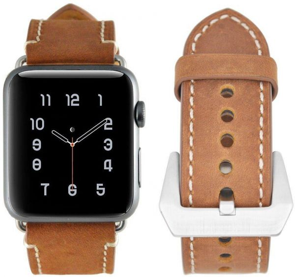 Buy Apple Watch Band 42 MM,Leather Strap Replacement Band