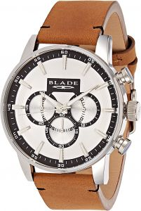 Blade Dress Watch For Men Analog Leather - 10-3479G-SWO 69c459c5fbb3a