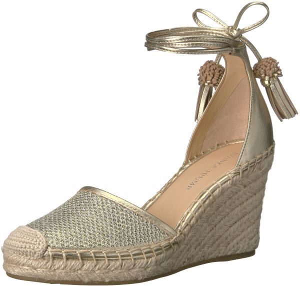 Ivanka Trump Women's Wadia4 Espadrille Wedge Sandal, Gold, 10 Medium US