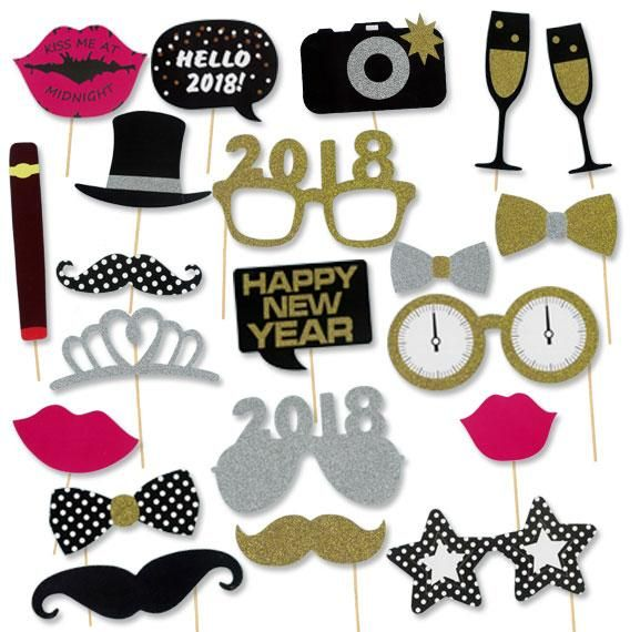 2018 New Years Party Photobooth Props Souq Uae