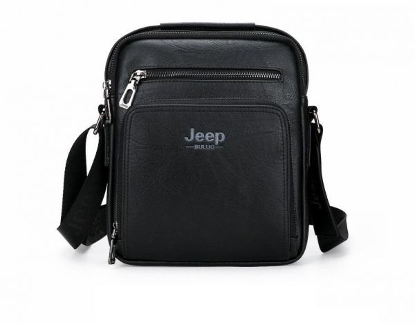 Jeep Buluo Bag For Men,Black - Crossbody Bags