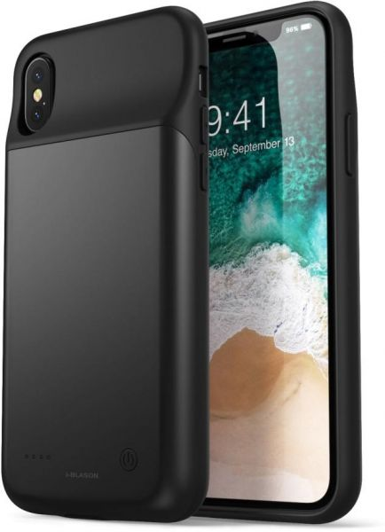 finest selection 4493d cfe86 Iphone X Battery Case 3200mA Black