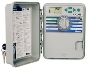 Hunter 4 Station Digital Timer Hose Water System Controller - X-CORE XC-401E
