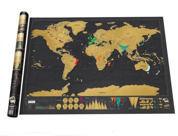 Souq scratch off world map poster scratchable black gold map uae scratch off world map poster scratchable black gold map gumiabroncs Gallery