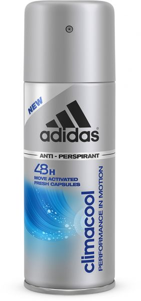 new product 720d0 09569 adidas Climacool Performance In Motion 48H Anti-Perspirant Spray for Men,  150 ml