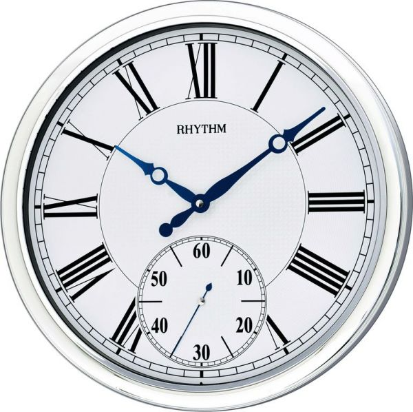Rhythm Plastic Analog Clock Wall Clocks price review and buy in