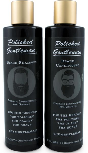 Beard Growth and Thickening Shampoo and Conditioner - Beard Care With  Organic Beard Oil - For Best Beard Look - For Facial Hair Growth - Beard