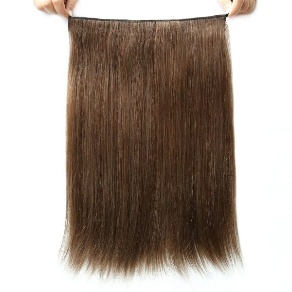 Yavida Hair 100 Human Hair Invisible Wire Halo Hair Extensions For