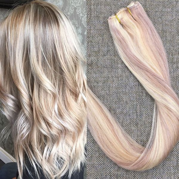 Souq Full Shine 20 Inch One Piece Human Hair Extension 50g Piano