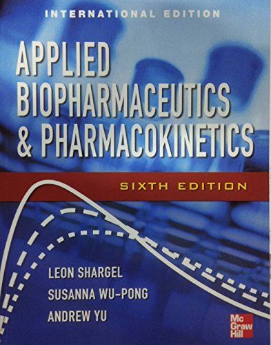 Shargel Biopharmaceutics Book
