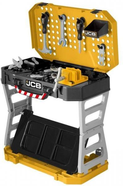Jcb Pop Up Compact Workbench With Toy Tools Souq Uae