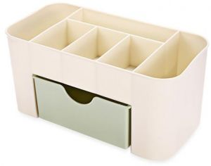 Quality Saving Space Desktop Comestics Storage Drawer Case Mini Table  Makeup Bottles Liquid Holder Box Slid Design Drop Ship