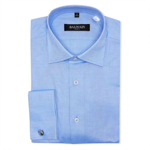 6d4ea7e5 Balmain Blue Shirt Neck Shirts For Men | Souq - UAE