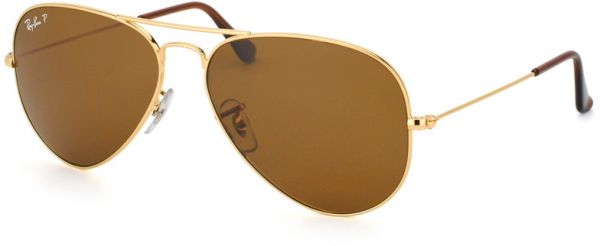 6e2412c7e12 ... Aviator Unisex Sunglasses - RB3025 001-57. by Ray-Ban