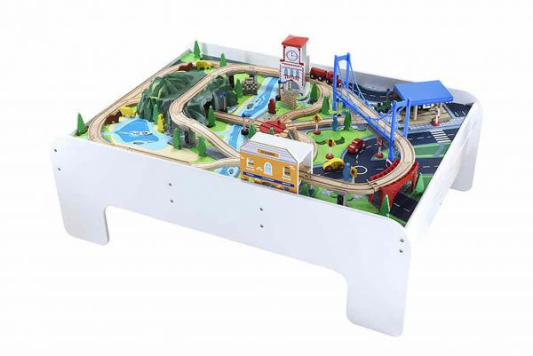 This item is currently out of stock  sc 1 st  Souq.com & Souq | ELC Big City Wooden Rail Train Table | UAE