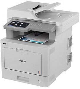 Brother MFC L9570CDW Professional All In One Colour Laser Printer With Advanced Paper Handling Capabilities Features Air Print Auto 2 Sided Printing