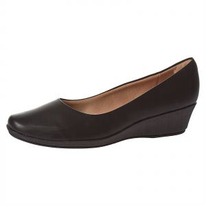 2e78a6d963a Piccadilly Black Wedge For Women