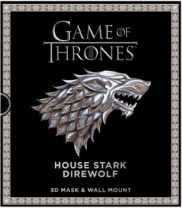 Game of Thrones: The House Stark Direwolf - Paperback