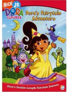Dora The Explorer Doras Fairytale Adventure DVD 2004