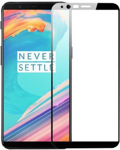 oneplus 5t tempered glass screen protector full cover 9h 2.5D ultra thin protective film guard