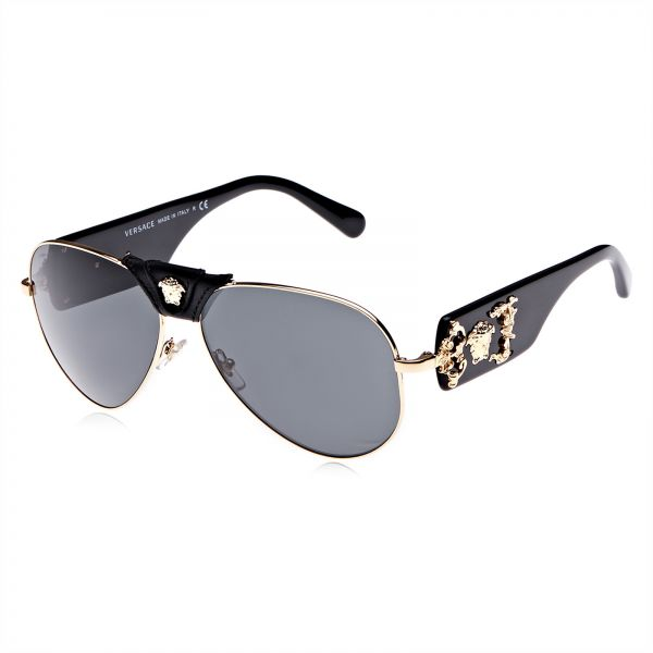 830b12945a7c Versace Aviator Women s Sunglasses - VE2150Q- 100287- 62 - 62 - 14 - 140 mm