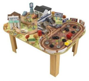 Kidkraft Cars 3 Thomasville Track Set u0026 Table  sc 1 st  Souq.com & kidkraft metropolis train table-set | KidkraftStealstreetGenexx ...