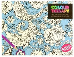 Colour Theraphy The Anti Stress Adult Colouring Book