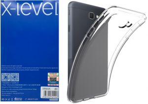 X-level AntiSlip Back TPU Cover 0.78 mm for Samsung Galaxy J7 PRIME , O7 2016 , Clear