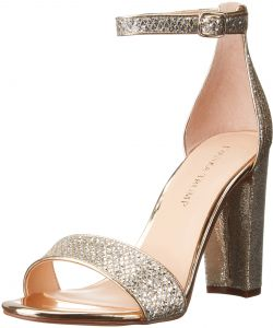 Ivanka Trump Women's Emalyn3 Dress Sandal, Gold/Silver, 9.5 M US