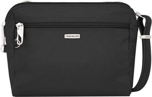 Travelon Women s Classic Convertible Crossbody and Waist Pack Cross Body Bag f7145937ea3b7