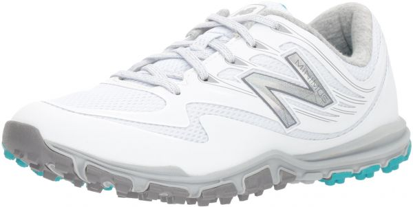 New Balance Women's Minimus Sport Golf Shoe, White, 7.5 B B US
