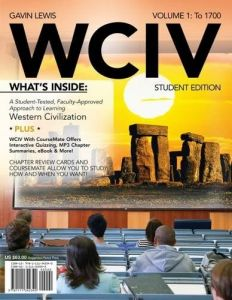 Civilization western 1 by dennis icanvasartwadsworth publishing wciv volume i with review cards and history coursemate with ebook wadsworth western civilization resource center 2 semester printed access card fandeluxe Gallery