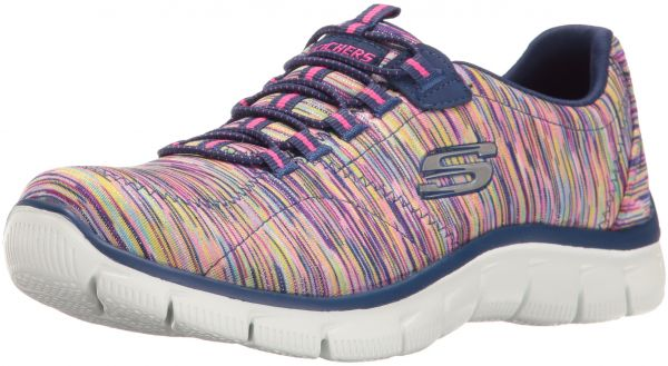32a2022bceb2 Skechers Women s Sport Empire - Rock Around Relaxed Fit Fashion Sneaker