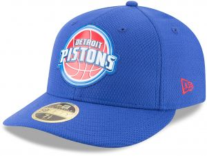 the best attitude 80104 32ba4 New Era NBA Detroit Pistons Adult Bevel Team Low Profile 59FIFTY Fitted Cap,  7 1 8, Light Royal