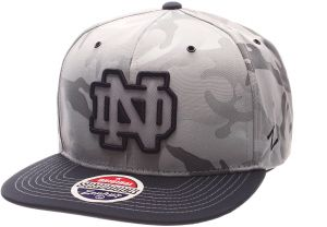 e63606adcc8 Zephyr NCAA Notre Dame Fighting Irish Adult Men s Brigade Snapback Hat