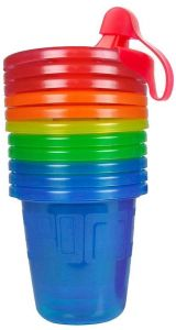 MONTHS SPILL PROOF NO PVC TRAVEL NEW THE FIRST YEARS TAKE /& TOSS SIPPY CUPS 6