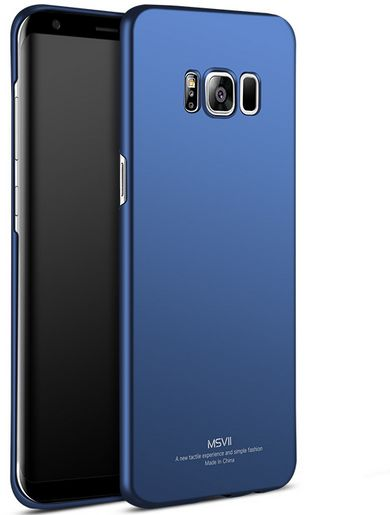 bfaaae35dfaf Samsung Galaxy S8 Plus Case MSVII Ultra Thin Blue Smooth & Matte Hard Back  Cover Phone Cases For Samsung Galaxy S8 Plus | KSA | Souq