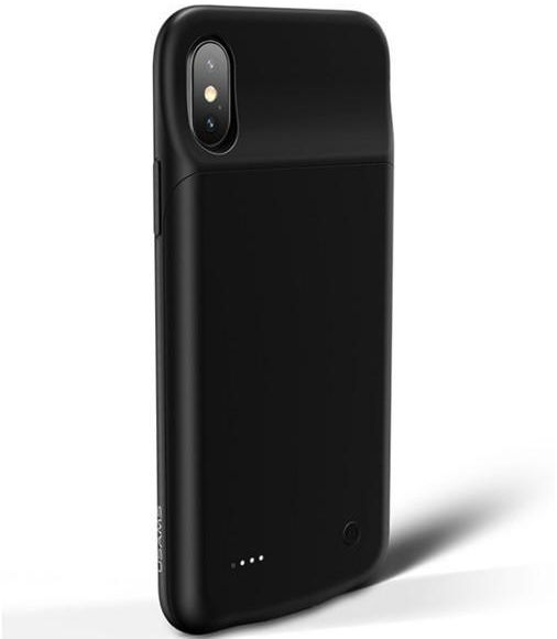 buy popular 35d59 82b43 USAMS US-CD43 Power Bank Case for iPhone X battery case 3200mAh APPLE  IPhone X Battery Case Rechargeable External Battery- Black