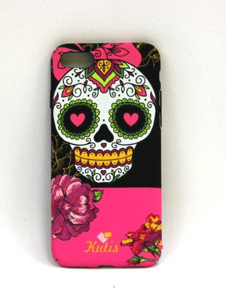 Souq aiwanto apple x back cover glow in the dark shock absorbing aiwanto apple x back cover glow in the dark shock absorbing scratch resistant w pink flower skull design protective cover for iphone multicolor mightylinksfo