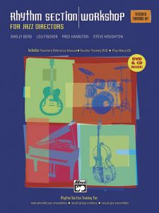 For Jazz Directors Rhythm Section Training Instrumental Ensembles Small Group Combos Vocal Complete Kit Book DVD CDs