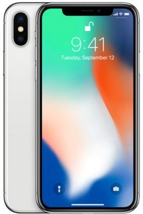 Apple Iphone X With Facetime 256gb 4g Lte Silver Souq Uae